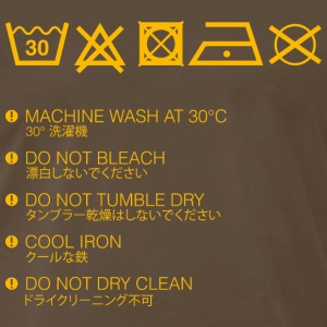 How To Wash Me - Men's Premium T-Shirt