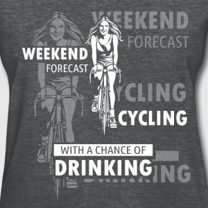 Cycling - Weather Forecast - Women's T-Shirt