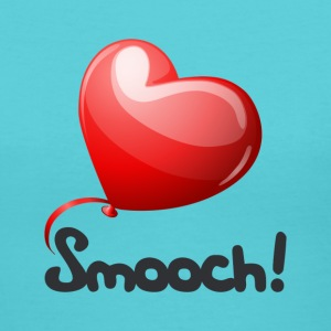 Smooch Balloon - Women's V-Neck T-Shirt
