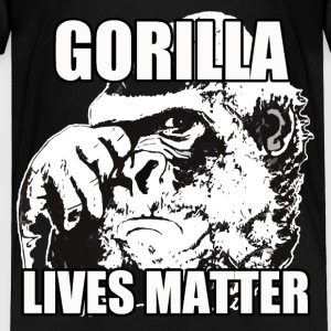 Gorilla lives matter - Toddler Premium T-Shirt