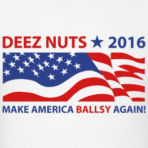 Deez Nuts Flag 2016 T-Shirts - Men's T-Shirt