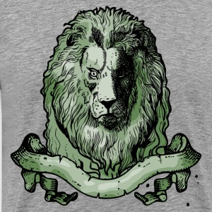 Lion head design T-Shirts - Men's Premium T-Shirt