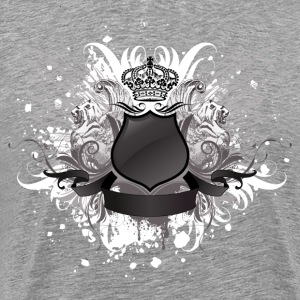 Crown shield with wings - Men's Premium T-Shirt