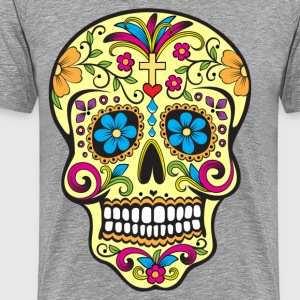 Day of the dead illustration - Men's Premium T-Shirt