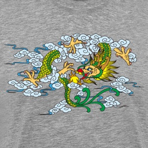 Chinese classical dragon art T-Shirts - Men's Premium T-Shirt