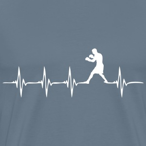Heartbeat Boxer - Men's Premium T-Shirt