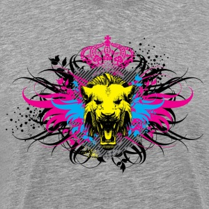Lion head and wings T-Shirts - Men's Premium T-Shirt