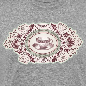 Coffee cup frame T-Shirts - Men's Premium T-Shirt