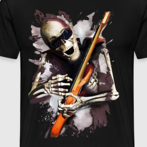 Skeleton Guitarist - Men's Premium T-Shirt
