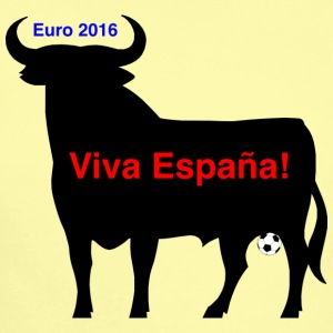 Spanish bull at the Eurocup 2016 - Short Sleeve Baby Bodysuit