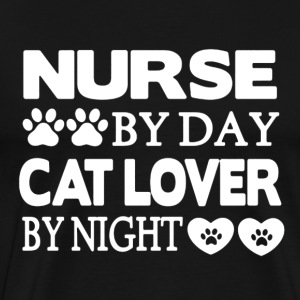 Nurse and Cat Shirt - Men's Premium T-Shirt