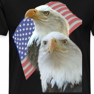 Eagles Red White and Blue T-Shirts - Men's Premium T-Shirt