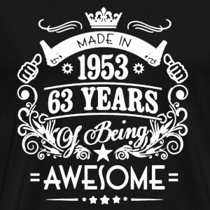 Made in 1953 Shirt - Men's Premium T-Shirt