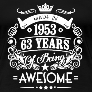 Made in 1953 Shirt - Women's Premium T-Shirt