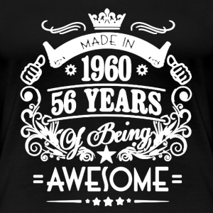 Made In 1960 Shirt - Women's Premium T-Shirt