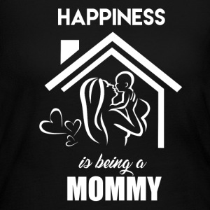 Happiness Is Being Mommy - Women's Long Sleeve Jersey T-Shirt