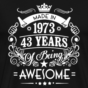 Made In 1973 Shirt - Men's Premium T-Shirt