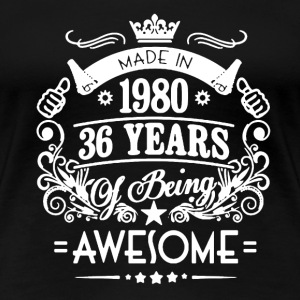 Made In 1980 Shirt - Women's Premium T-Shirt