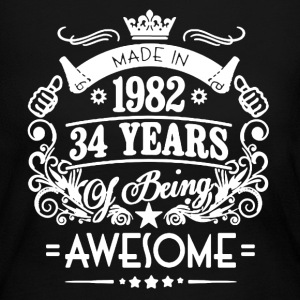 Made In 1982 Shirt - Women's Long Sleeve Jersey T-Shirt