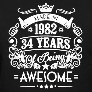 Made In 1982 Shirt - Women's T-Shirt