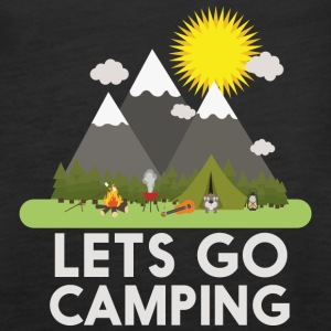 Lets go Camping Tanks - Women's Premium Tank Top