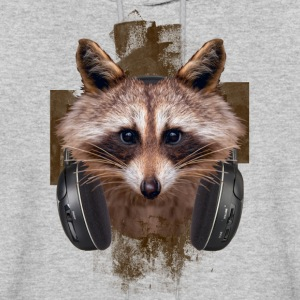 MUSIC LOVER RACCOON VI - Men's Hoodie