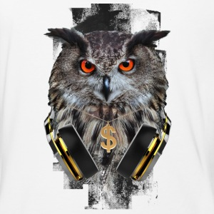 MUSIC LOVER OWL VI - Baseball T-Shirt