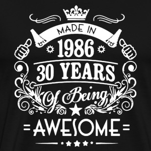Made In 1986 Shirt - Men's Premium T-Shirt