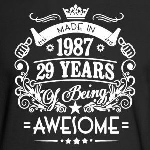 Made In 1987 Shirt - Men's Long Sleeve T-Shirt