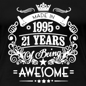 Made In 1995 Shirt - Women's Premium T-Shirt