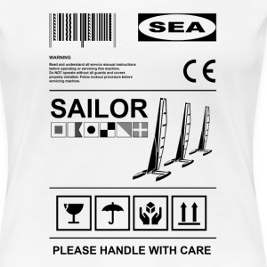 Sailor label Women's T-Shirts - Women's Premium T-Shirt