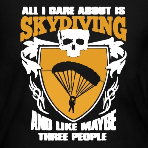 Skydiving Shirt - Women's Long Sleeve Jersey T-Shirt