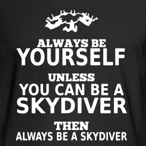 Skydiver Shirt - Men's Long Sleeve T-Shirt