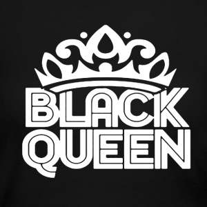 Black Queen Shirt - Women's Long Sleeve Jersey T-Shirt