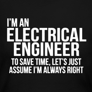 Electrical Engineer Shirt - Women's Long Sleeve Jersey T-Shirt