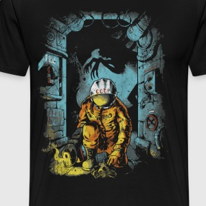 Alien Space - Men's Premium T-Shirt