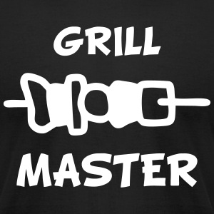 Grill Master T-Shirts - Men's T-Shirt by American Apparel