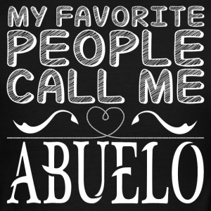 MY FAVORITE PEOPLE CALL ME ABUELO T-Shirts - Men's Ringer T-Shirt
