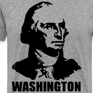 George Washington Head - Men's Premium T-Shirt