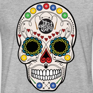 Sugar Skull - Fitted Cotton/Poly T-Shirt by Next L - Fitted Cotton/Poly T-Shirt by Next Level