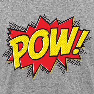 pow graphic t-shirt - Men's Premium T-Shirt
