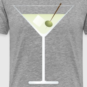 Drink wine glass - Men's Premium T-Shirt