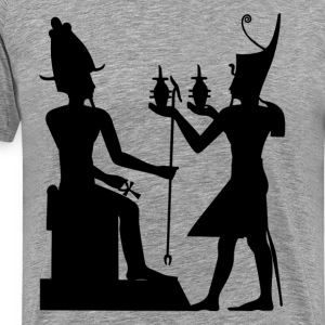 God of Egypt King Setos Sacrifice t - Men's Premium T-Shirt