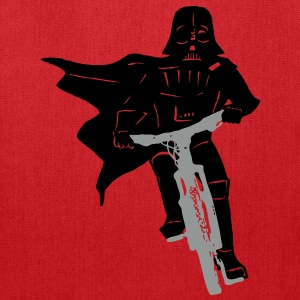 Darth Vader - Chad Vader - Riding A Bike - Tote Bag