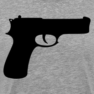 Gun silhouette collection T-Shirts - Men's Premium T-Shirt