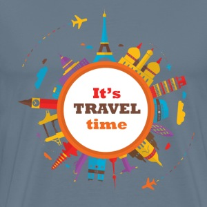 vk-travel-time.png T-Shirts - Men's Premium T-Shirt