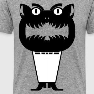 Cartoon monster silhouette T-Shirts - Men's Premium T-Shirt