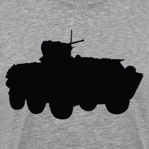 missile truck Military silhouette T-Shirts - Men's Premium T-Shirt
