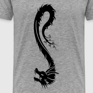 Oriental dragon tattoo art T-Shirts - Men's Premium T-Shirt