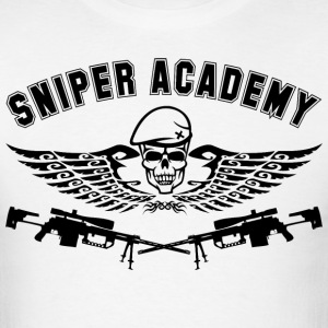 Sniper Academy - Men's T-Shirt